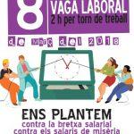 8 de marzo 2018 vaga dones